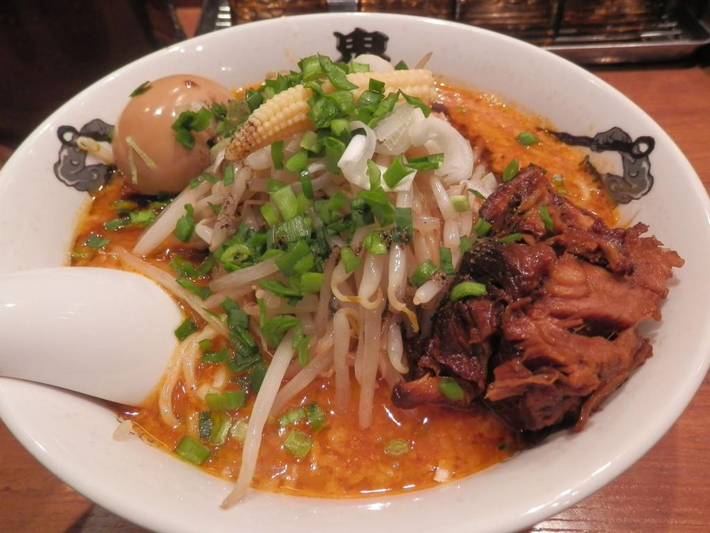 カラシビ味噌らー麺 鬼金棒 特カラシビ味噌らー麺1