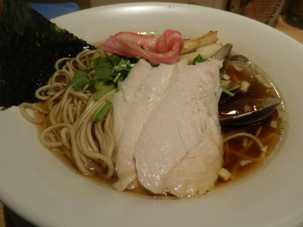 むぎとオリーブ 鶏・煮干・蛤のトリプルSOBA