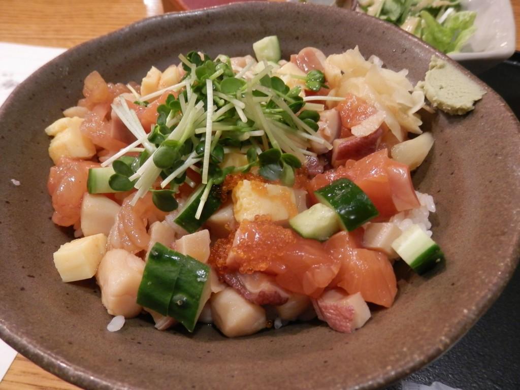 原始焼・二代目・魚々子 海鮮ちらし丼